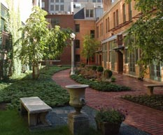 Condominio - cortili e giardini